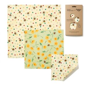 Emma Bridgewater Bees & Buttercups Print Beeswax Wraps – 3 pack