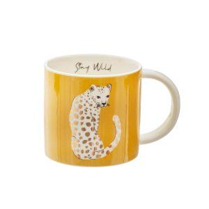 Sass & Belle mug with leopard