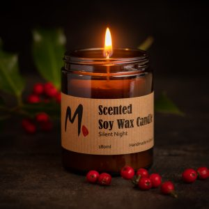 Soy wax candle – Silent Night
