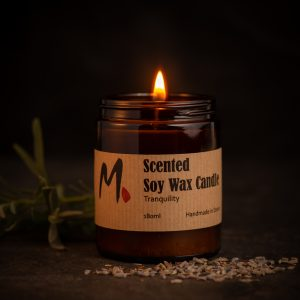 Soy wax candle – Tranquility