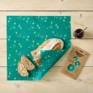 Seaside Print Beeswax Wraps – 2 pack