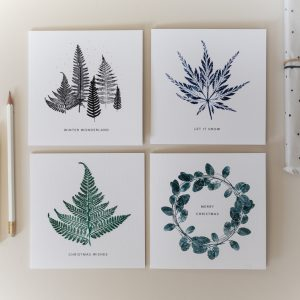 Christmas Card – Mixed 4 Pack