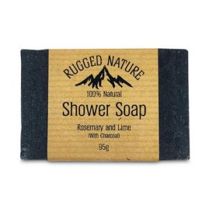 Rugged Nature Shower Soap With Charcoal