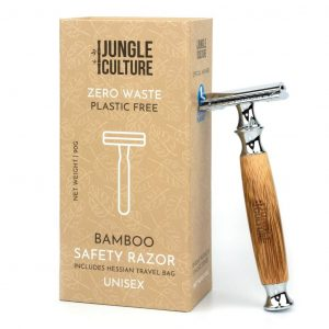 Bamboo Safety Razor | Unisex DE Reusable Razor | Zero Waste Eco Razor